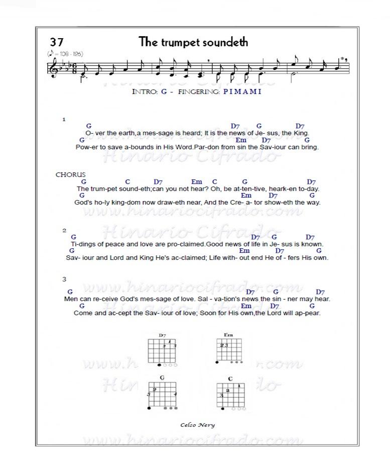 Hinm 37 The Trumpet Soundeth, hino 37 ccb, hino 37 ccb cifra, hino 37 ccb letra, hino 37 ukulele, hino 37 viola, hino 37 viola caipira, hino 37 cifra, 37 ccb, 37 cifra, 37 hinario 4, 37 violão, hino 37 ukulele,hino 37 ccb ukulele, 37 ukulele, 37 cifra ukulele, hino-37-ukulele